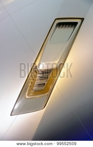 Ultra modern car headlight