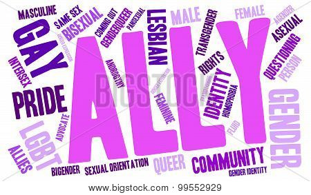 Ally Word Cloud