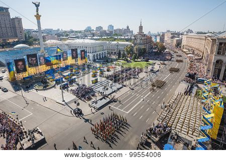 March Of Independence In Kiev