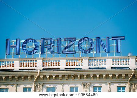 Logo of Holding Horizont - Minsk plant, the largest in Belarus