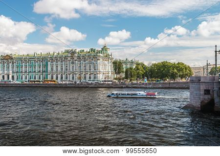 View Of Winter Palace From Neva River