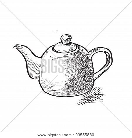 collection of the teapots
