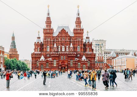 The State Historical Museum of Russia. Located between Red Squar