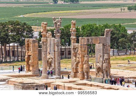 Persepolis Xerxes gateway