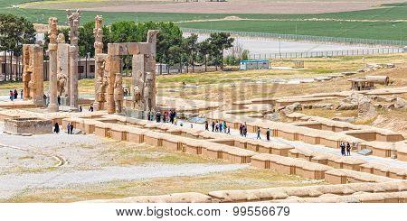 Persepolis gate of nations