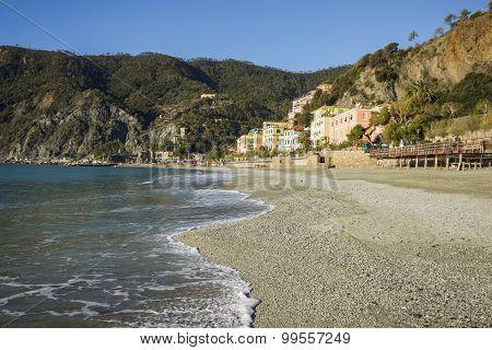 Beach at Monterosso, Cinque Terre, Italy