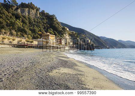 Beach at Monterosso, Cinque Terre, Italy, Cinque Terre, Italy