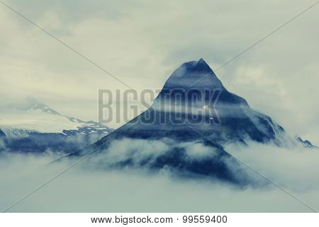 Mountain in Alaska,Valdez, USA