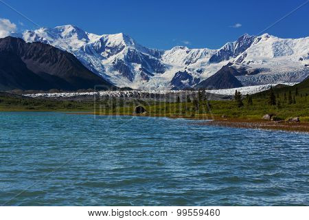 Wrangell-St. Elias National Park and Preserve,Alaska.