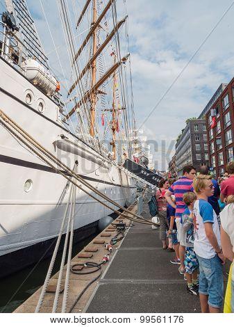 Portuguese tall ship Sagres at Sail 2015