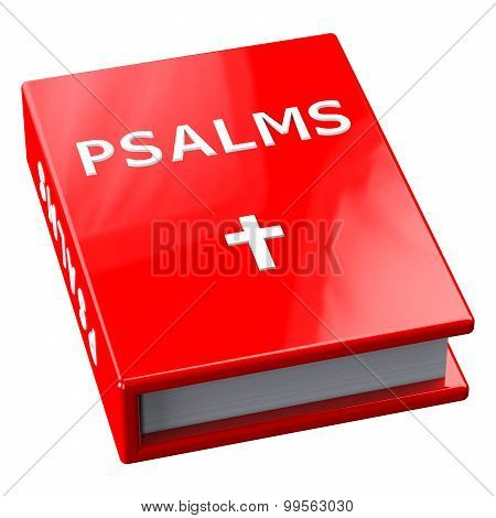 Red Book With Word Psalms