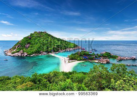 Beautiful Beach Of Koh Tao, Thailand