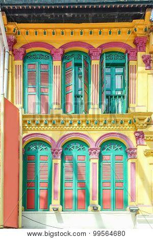 Window and door colorful