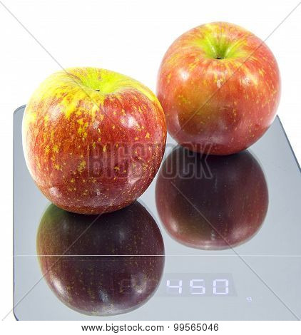 Red Apples and Scale