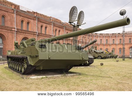 The Record Powerful Artillery In The World Of Self-propelled 2S7