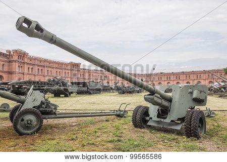 100-mm Field Gun Bs-3, Mod.1944