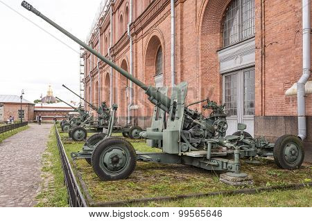 57-mm Automatic Anti-aircraft Gun S-60