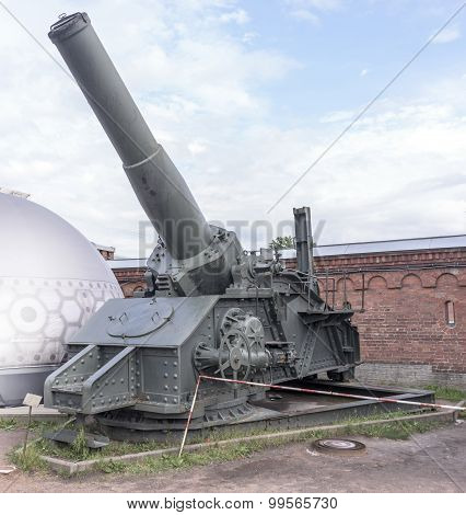 305 Mm Howitzer Obukhov Factory Mod. 1915