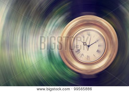 Life passing by - time concept