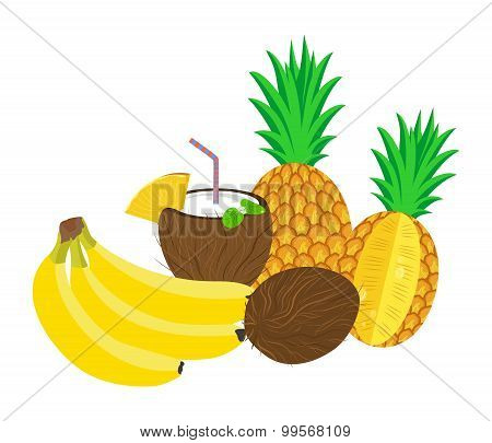 the tropical still life