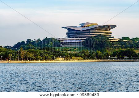 Futuristic Design Of Putrajaya International Convention Centre Located At Putrajaya, Malaysia