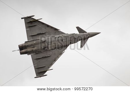 Radom, Poland - August 23: Italian Efa-2000 Eurofighter Typhoon Demo Display Team During Air Show 20