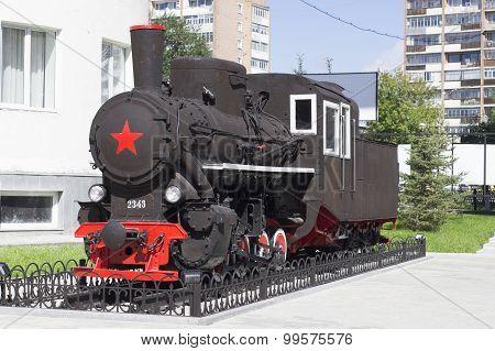Model locomotive