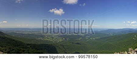 View From Stony Man Lookout, Shenandoah National Park