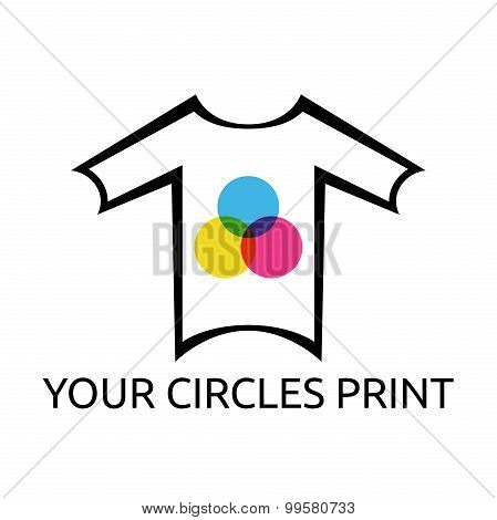 T-shirt With Circles