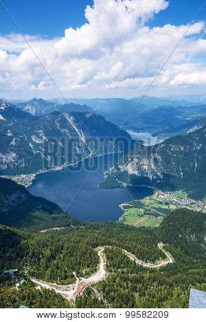Obertraun, Lake Hallstatt - View From Dachstein