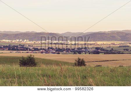 Rural summer landscape.