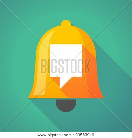Bell Icon With A Tooltip