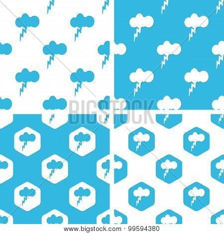 Thunderbolt patterns set