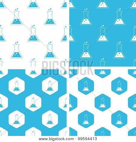 Conical flask patterns set