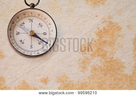 Ancient Magnetic Exploration Compass, Navigator