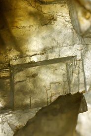 picture of calcite  - Close up photograph of a calcite  - JPG
