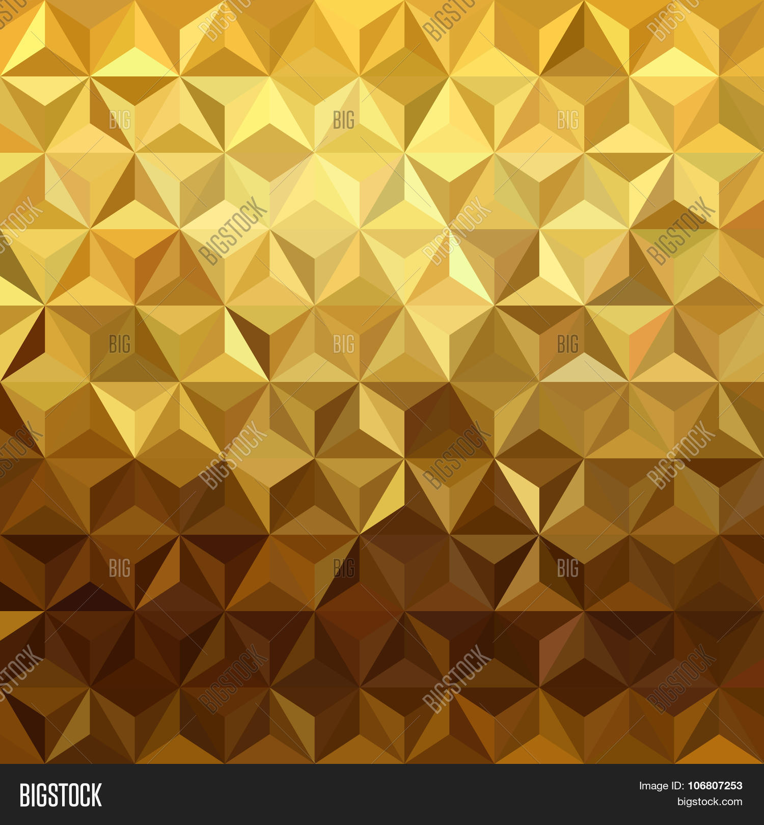 gold pattern low poly 3d triangle vector amp photo bigstock