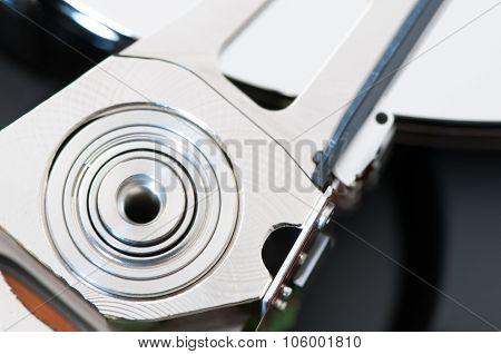 Hdd Harddisk Internals Closeup Datadisk