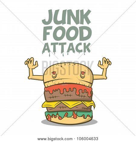 Junk Food Attack