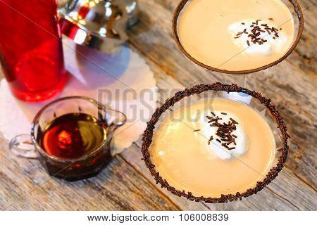 Adult Beverage Chocolate Martini