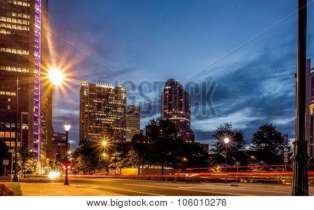 Charlotte North Carolina Views Around  Downtown