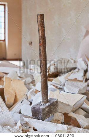 Hammer Demolition Material