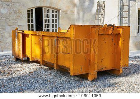 Dump Demolition Material
