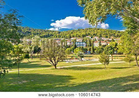 Sustipan Park In City Of Split