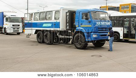 Kamaz Vehicle Module For Transportation Of People