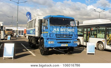 Kamaz-terrain Running On Methane