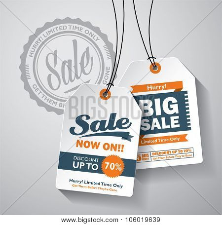 Sale Tag design elements