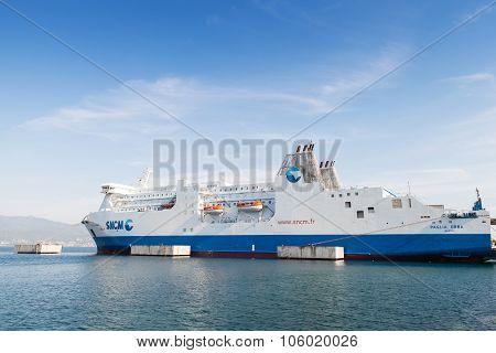 : Passenger Ship Paglia Orba By Sncm