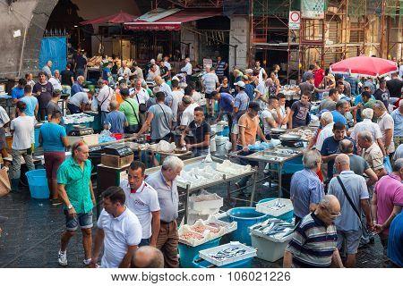 Fish Market, Catania