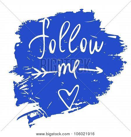 Follow me. Social net